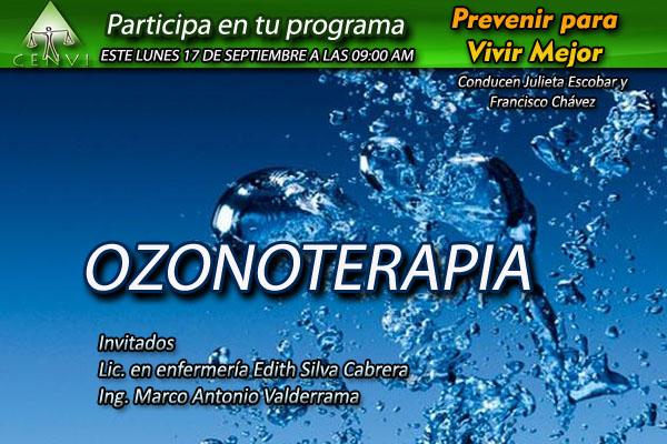 17 de Septiembre tema Ozonoterapia