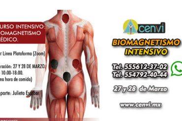 Biomagnetismo Intensivo Marzo